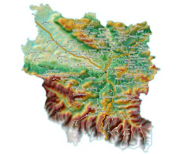 Карта на Габрово